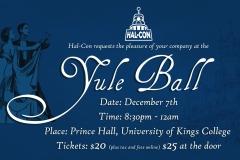 Yule Ball 2018 Banner