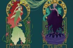 Art-Nouveau-Little-Mermaid